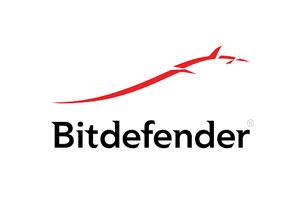 Logo fournisseur Bitdefender global cybersecurity leader